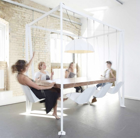 Swing Table by Duffy