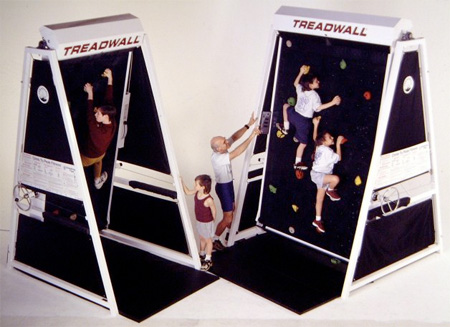 Treadmill Climbing Wall