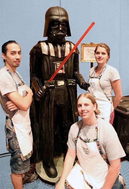 Star Wars Darth Vader Cake