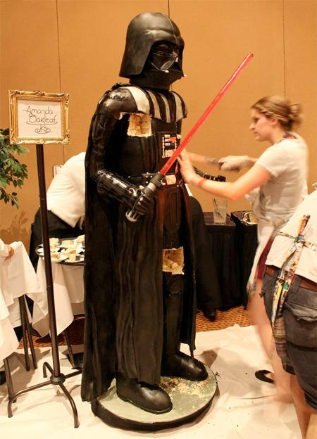 Life Size Darth Vader Cake