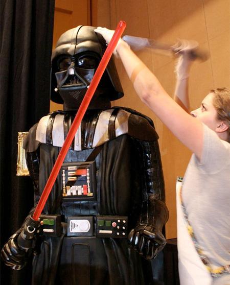 Edible Darth Vader
