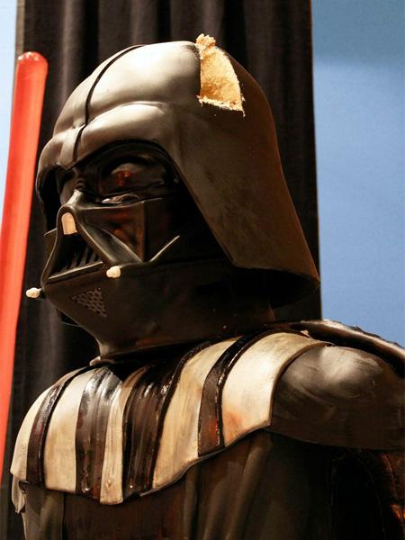 Vader Cake