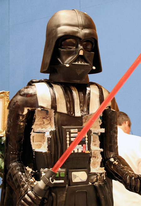 Darth Vader Birthday Cake