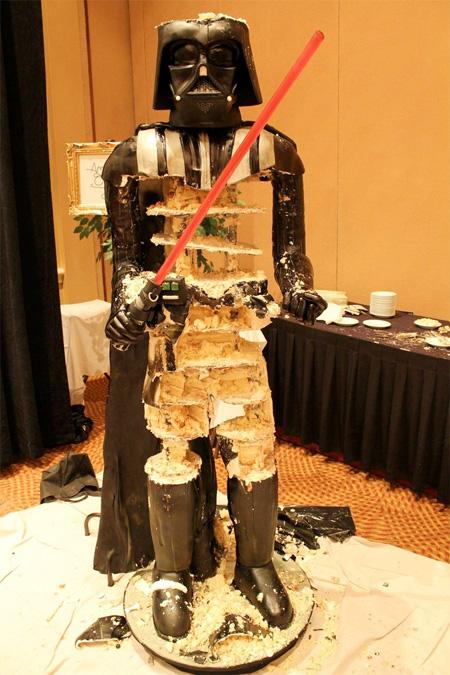 Star Wars Darth Vader Birthday Cake
