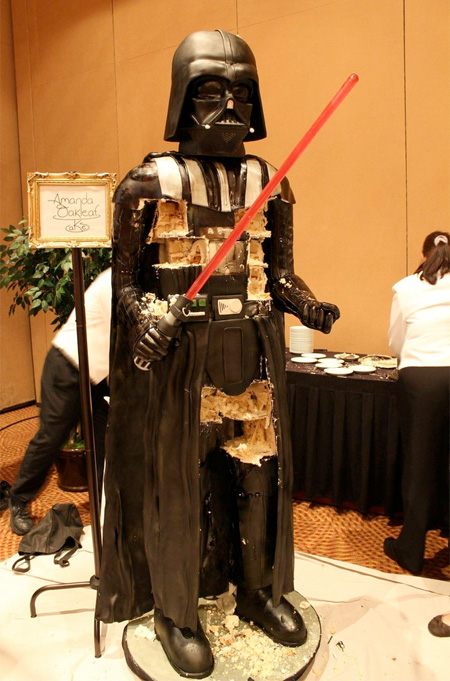 Life Size Star Wars Darth Vader Cake