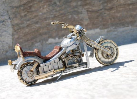 Watch Parts Motorcycle by Dan Tanenbaum