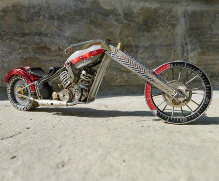 Watch Part Motorcycle by Dan Tanenbaum
