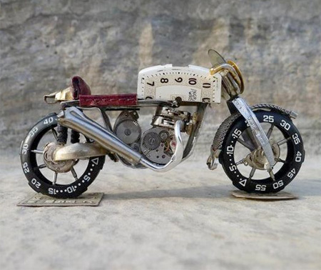 Tiny Motorcycle