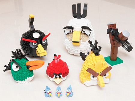 Angry Birds Made of LEGO