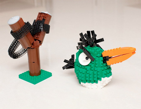 Angry Birds Made out of LEGO