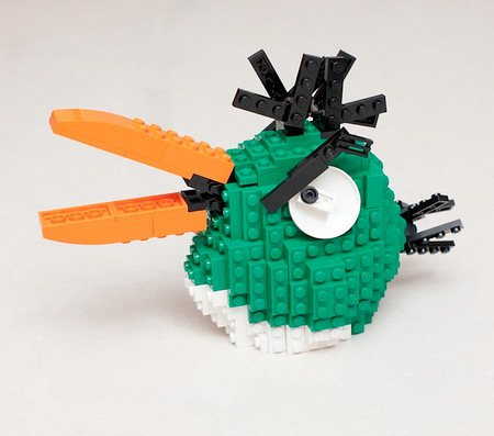 LEGO Green Bird