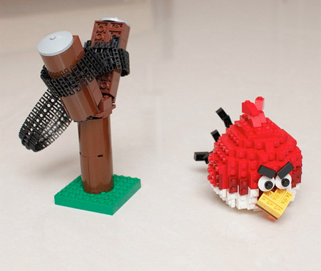 Angry Birds Made from LEGO