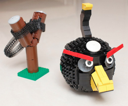 Angry Birds Created out of LEGO
