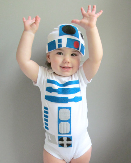 Star Wars R2-D2 Baby Costume