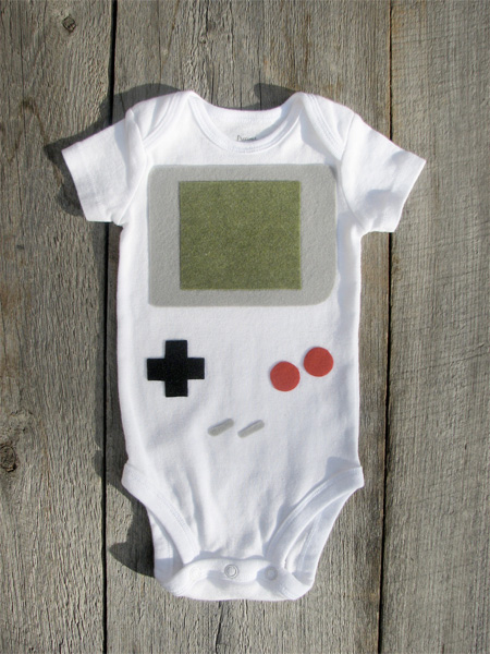 Nintendo Gameboy Baby Costume