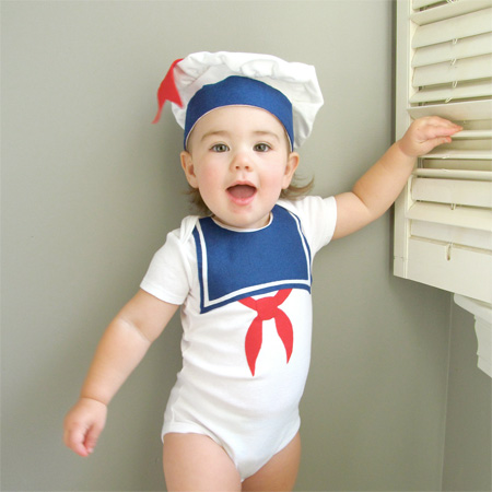 Marshmallow Man Baby Costume