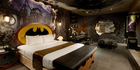 Batman Hotel Room