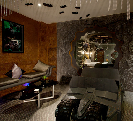 Batman Cave Hotel Room