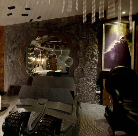 Batman Cave Hotel in Taiwan