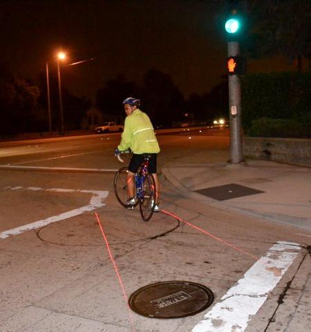 Projected Bike Lane