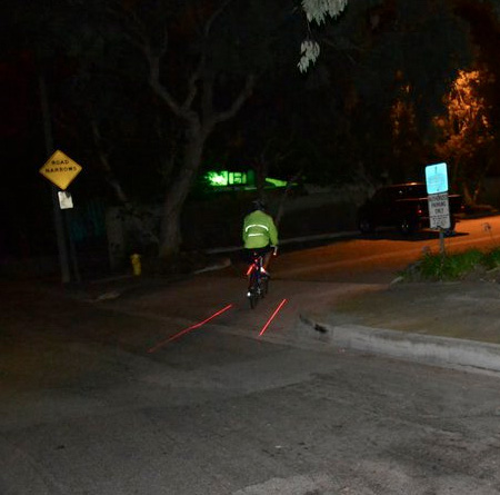 Projected Bicycle Lane
