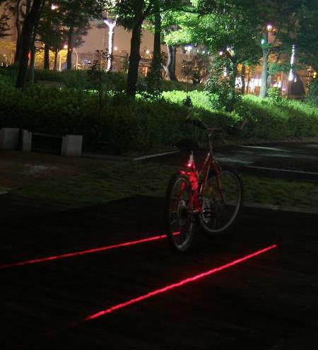 XFIRE Laser Bike Lane