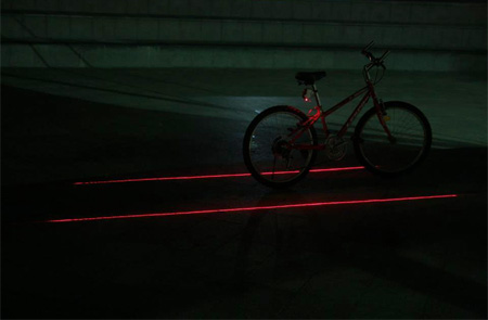 XFIRE Laser Bicycle Lane