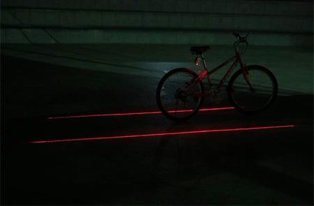 XFIRE Laser Bicycle Lane