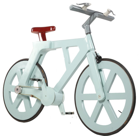 Bicycle Made of Cardboard