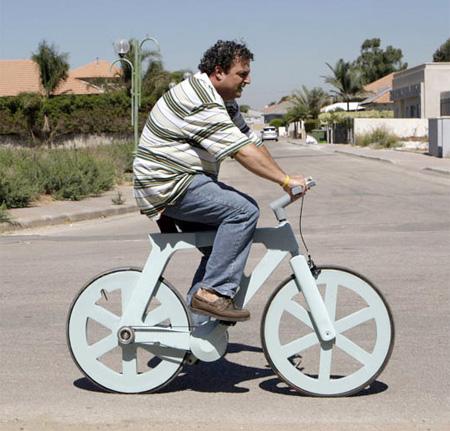 Bike Made of Cardboard