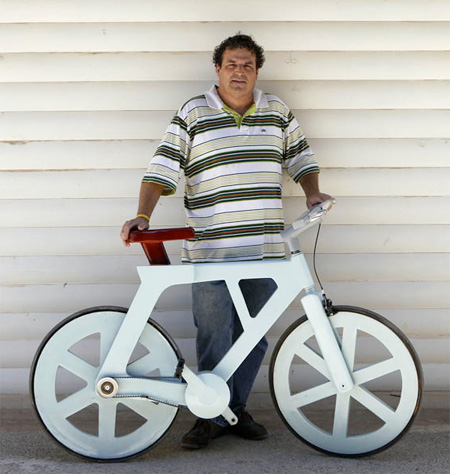Izhar Gafni Cardboard Bicycle