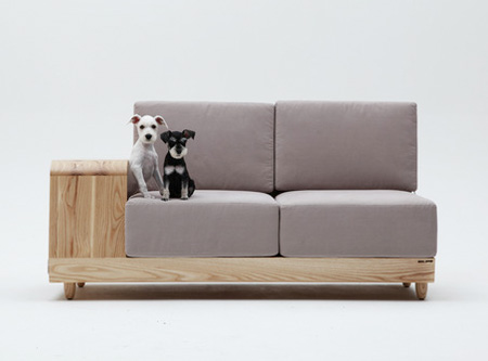 Dog House Couch by Seungji Mun