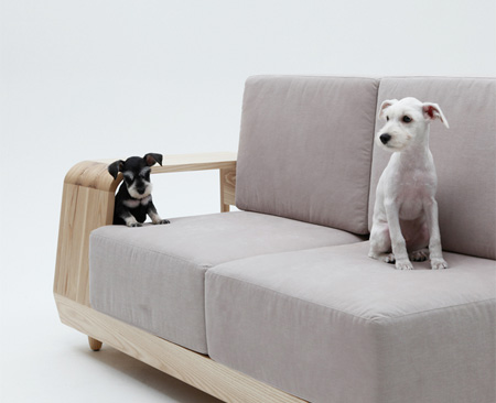 Dog Couch by Seungji Mun