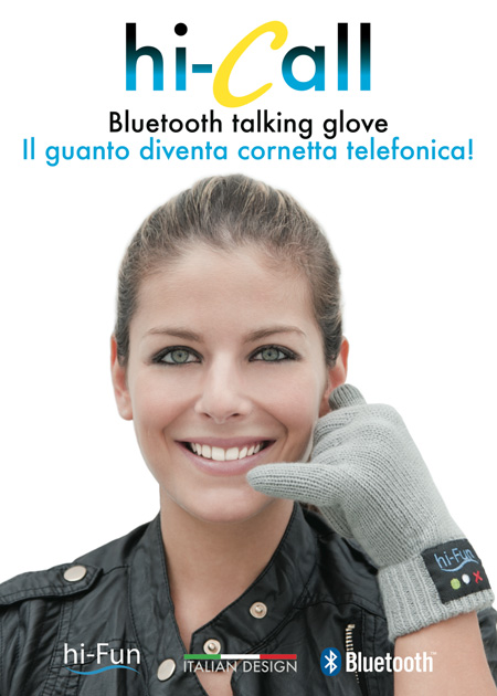 Bluetooth Glove