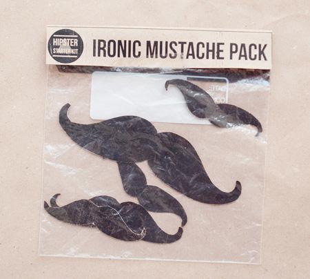 Ironic Mustache