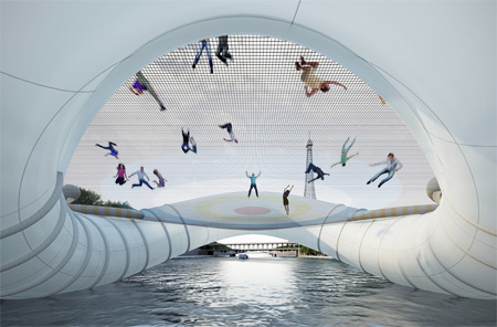 Inflatable Bridge