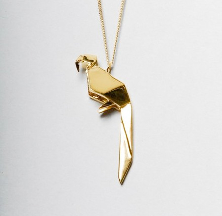 Origami Inspired Jewellery