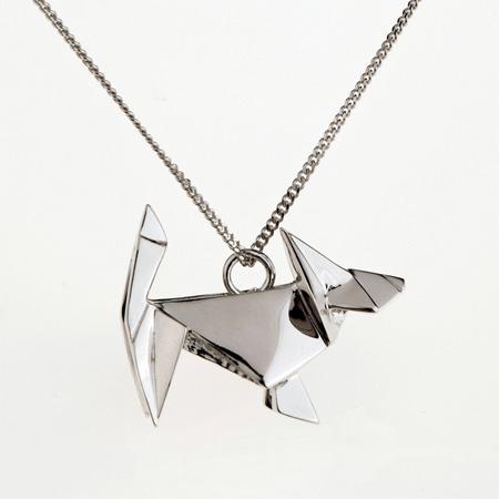 Metal Origami Jewelry