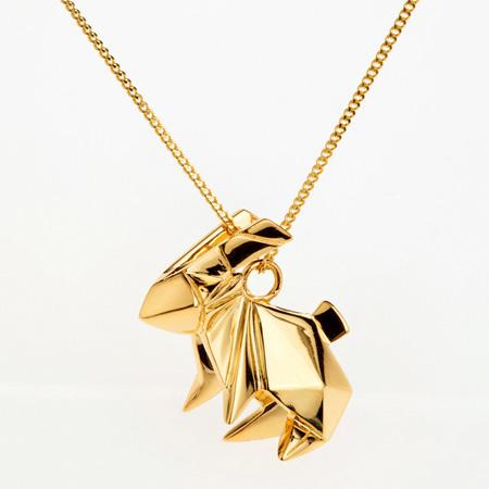 Metal Origami Jewellery