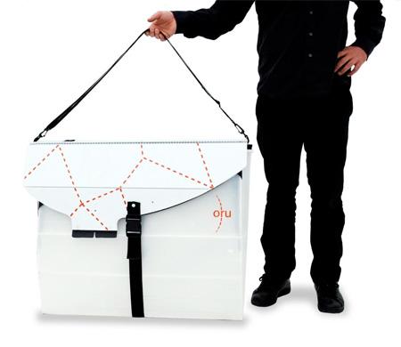 Folding Origami Kayak