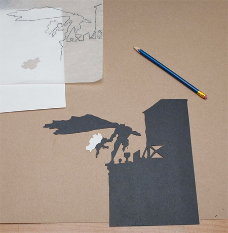 Paper Cut Art by David A Reeves
