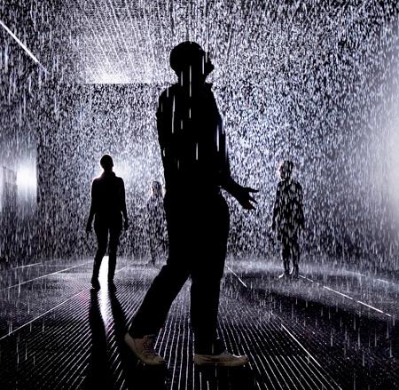 Indoor Rain by rAndom International