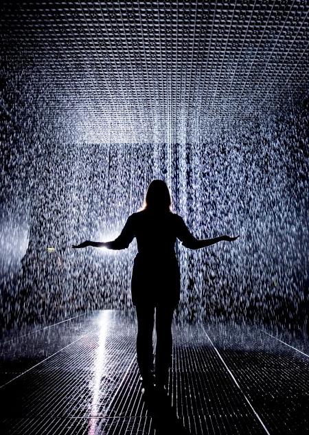Rain by rAndom International
