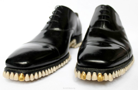 Shoes have Teeth