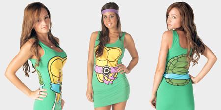 Ninja Turtle Dresses