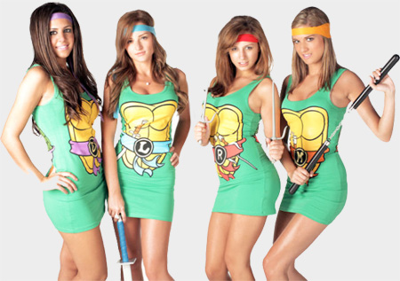 Ninja Turtles Dresses
