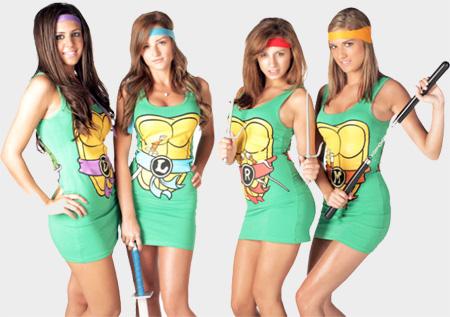 Ninja Turtles Dresses