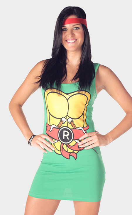 TMNT Teenage Mutant Ninja Turtles Dresses
