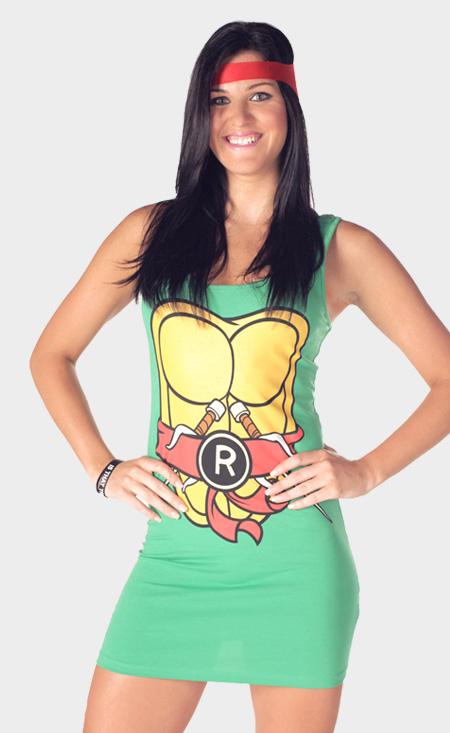 TMNT Teenage Mutant Ninja Turtles Dresses