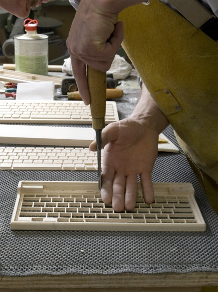 Wood Computer Keyboard